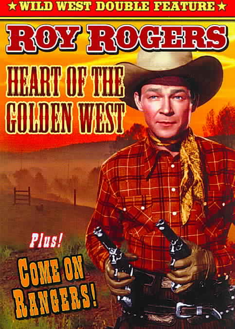 ROY ROGERS DOUBLE FEATURE:HEART OF TH BY ROGERS,ROY (DVD)